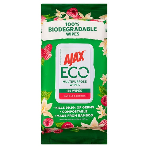 Ajax Eco Biodegradable Wipes
